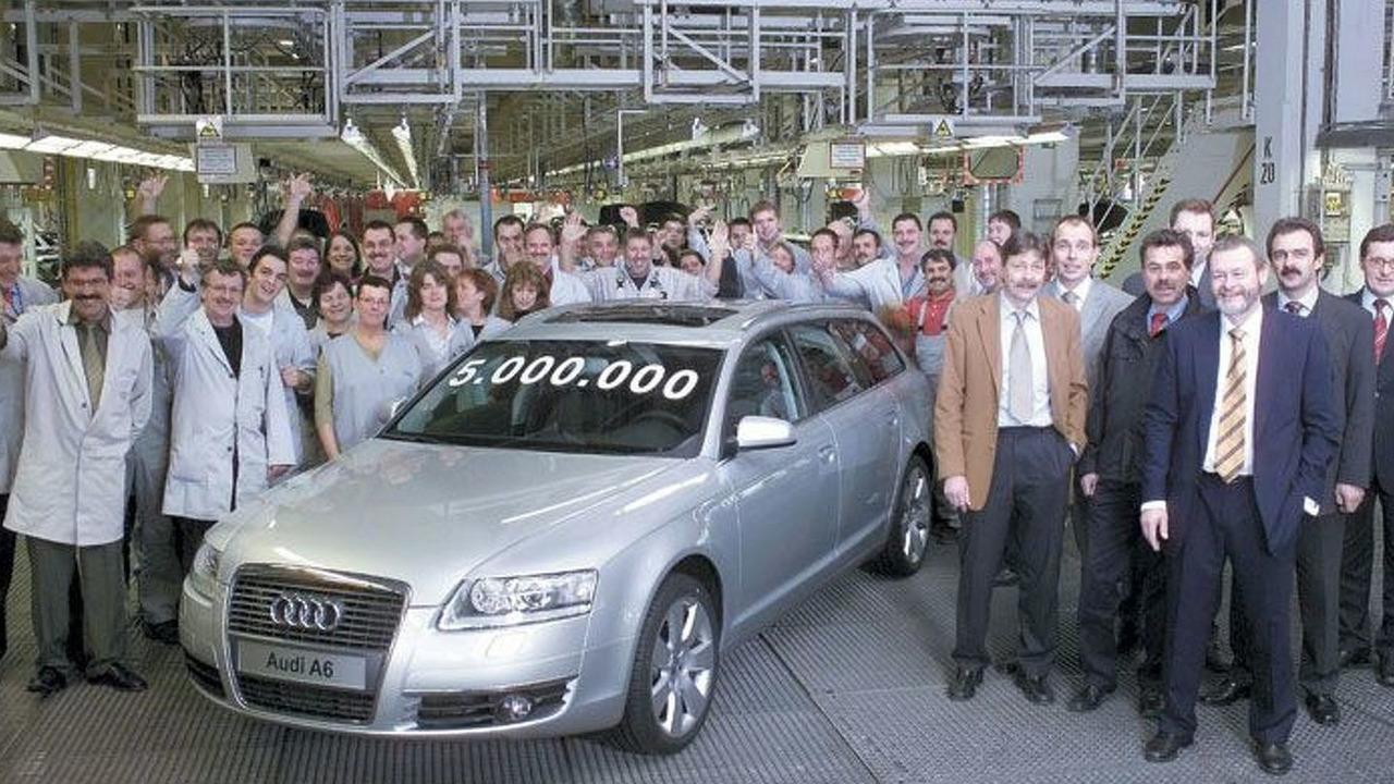 5 millionth A6 leaves prod. line Neckarsulm