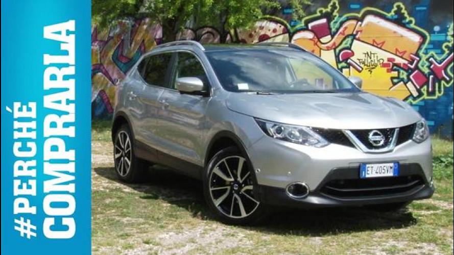 Nissan Qashqai, perché comprarla... e perché no [VIDEO]