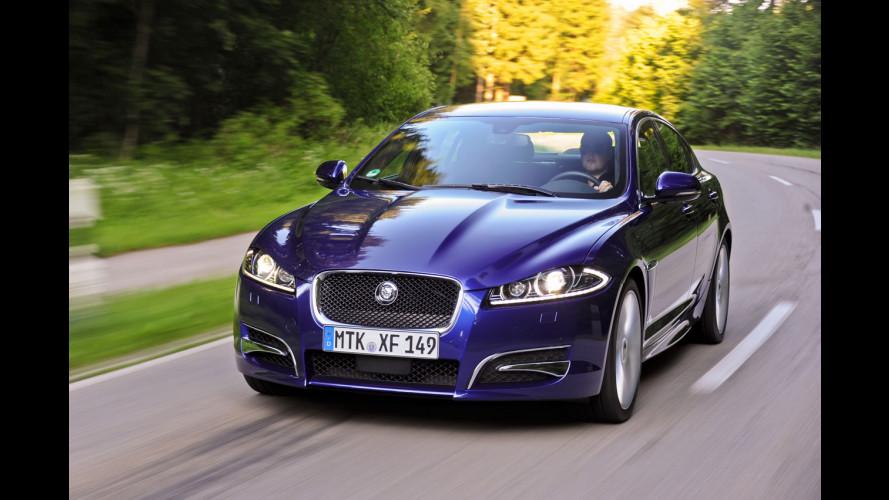 Jaguar XF 2.2D: ecco la 163 CV