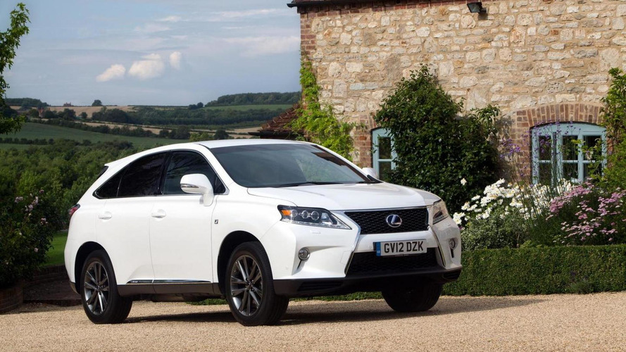 2013 Lexus RX 450h launched in UK