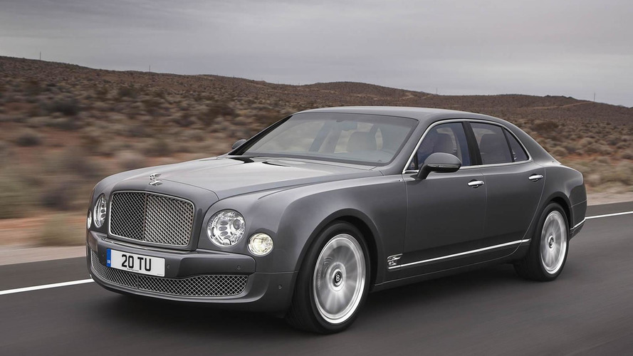 Bentley considering armored cars - report