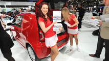 Volkswagen Eco Up concept live in Geneva 06.03.2012