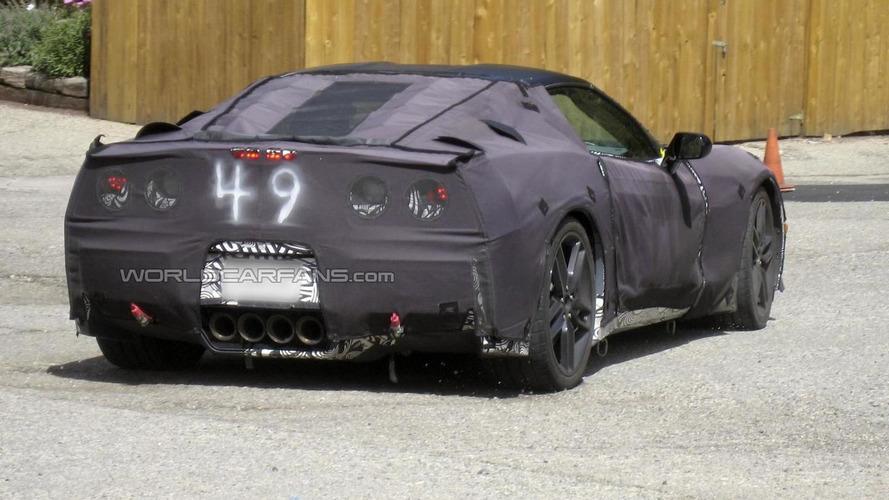 2014 Chevrolet Corvette prototype spied