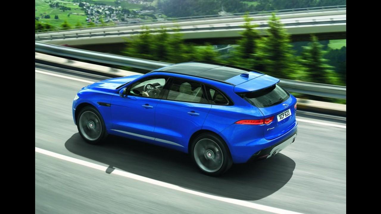 Este é o F-Pace, primeiro crossover da história da Jaguar - galeria de fotos