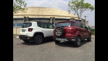 Teste CARPLACE: EcoSport 1.6 Powershift quer reagir ao Renegade 1.8 A/T