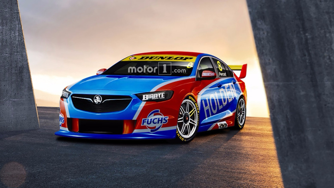 2018 Holden Commodore render for V8 Supercars Championship
