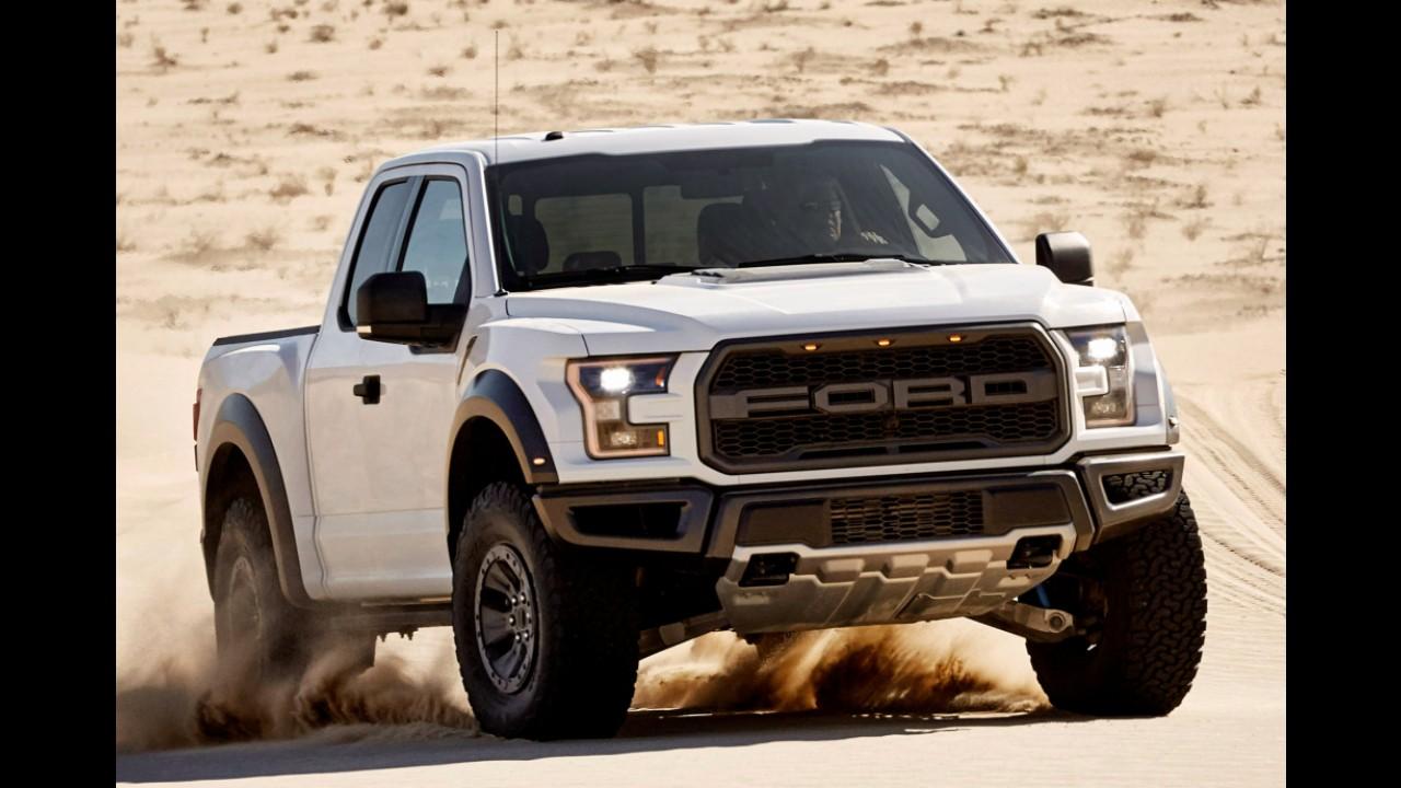 F-150 Raptor: super bruta da Ford terá modo de condução para desertos