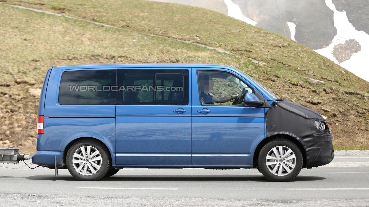 2015 Volkswagen T6 spy photo