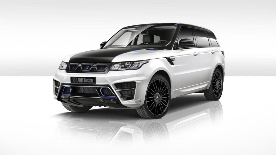 LARTE Design unveils Range Rover Sport Winner for Essen