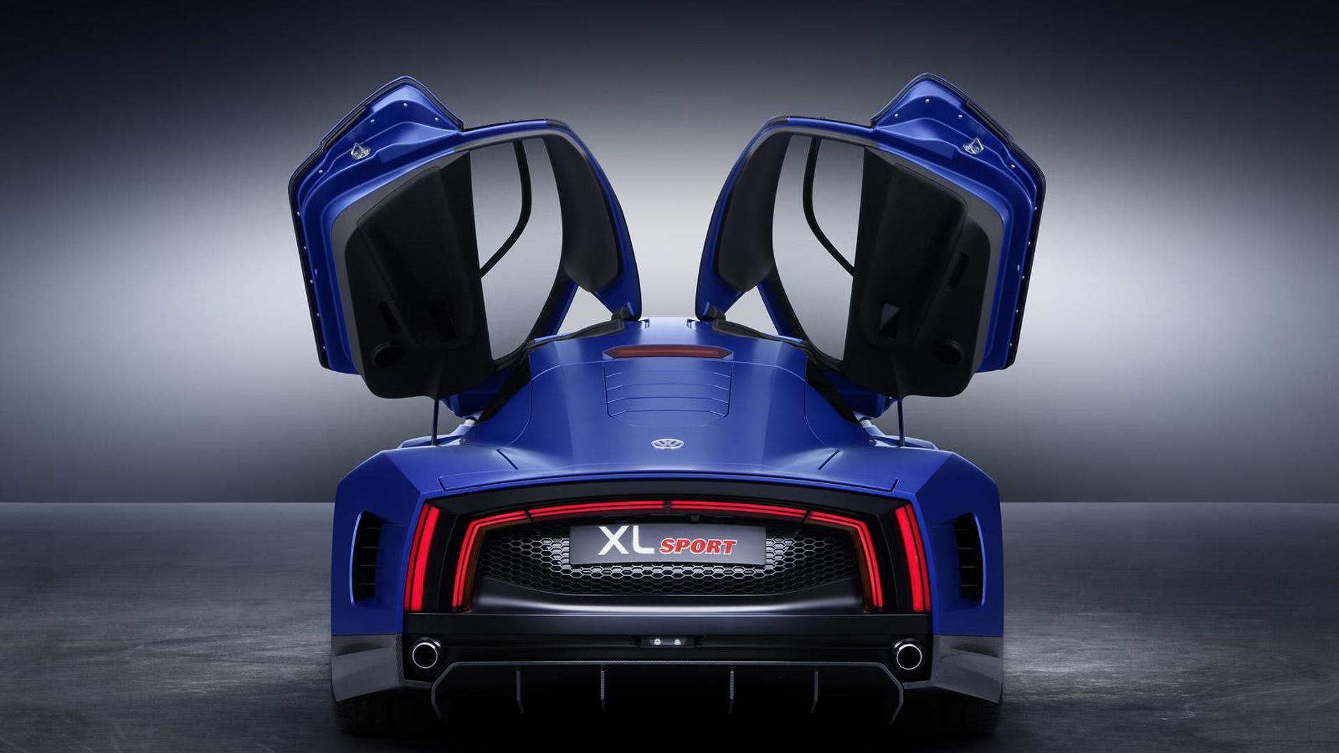 VW XL Sport: двери открываются как у Lamborghini