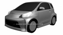 Toyota iQ Sport patent drawings - 08.12.2011