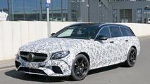 2018 Mercedes-AMG E63 Estate spy photos