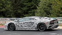 Lamborghini Aventador refresh spy pics