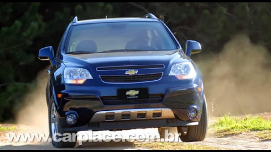 Chevrolet Captiva já é líder do segmento - Versão 2.4 Ecotec está chegando
