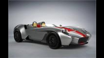 Leichter Roadster vom Lykan-Designer