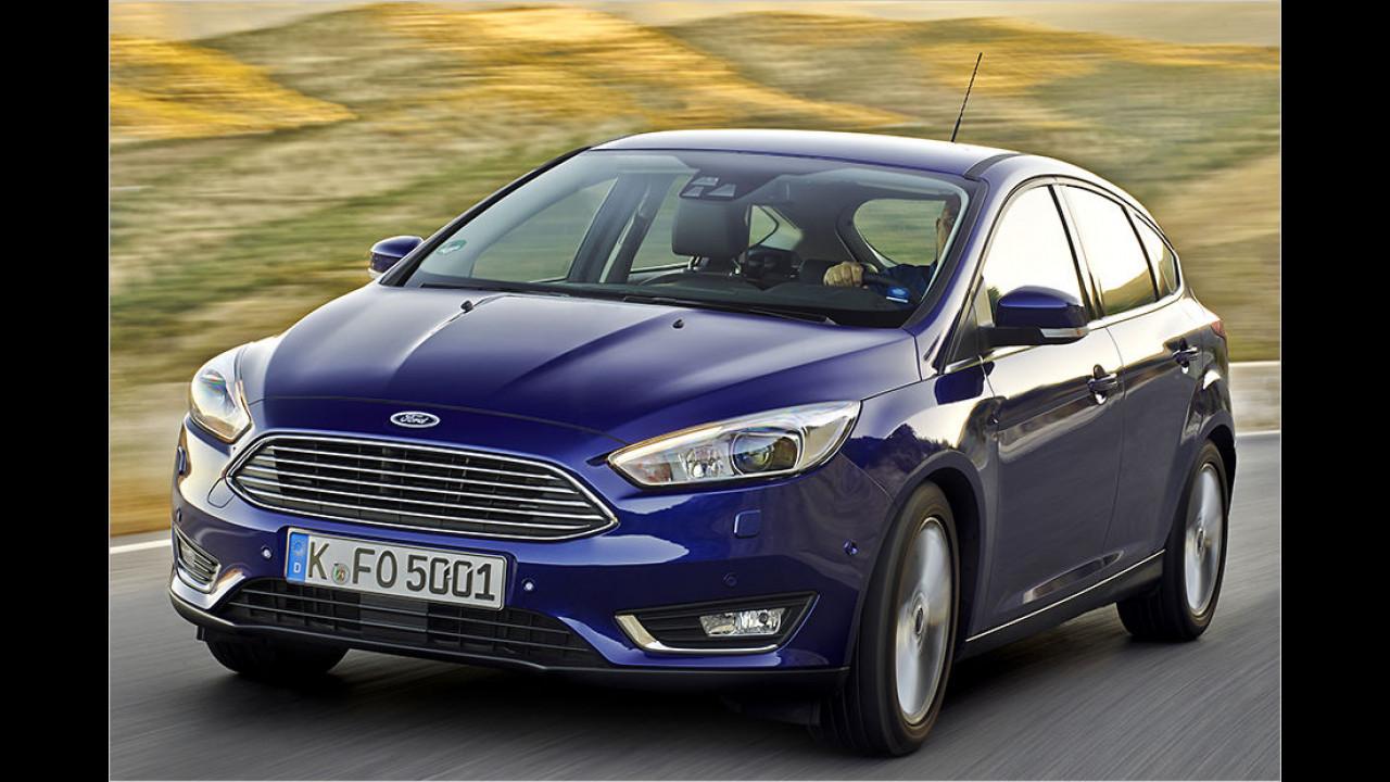 Platz 6: Ford Focus