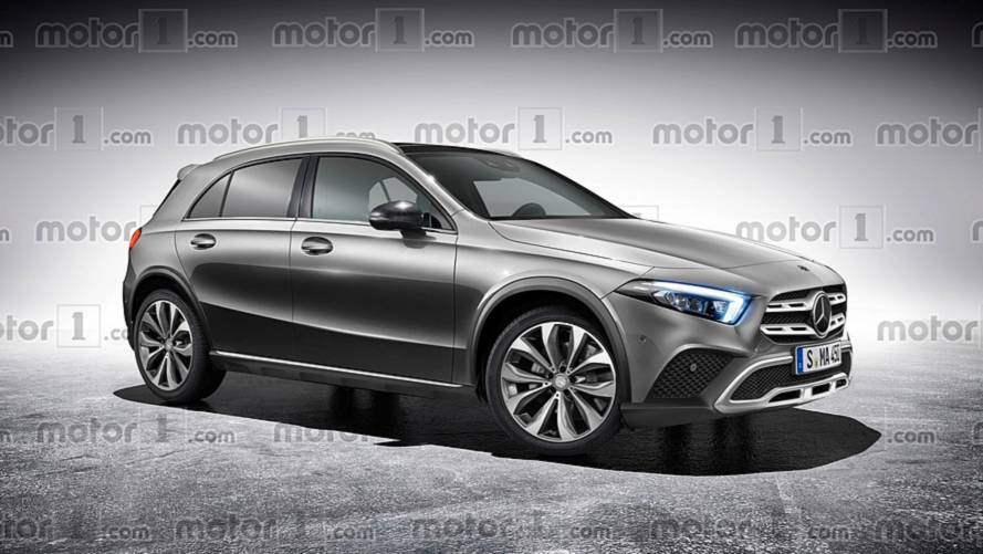 Mercedes-Benz GLA 2019 render