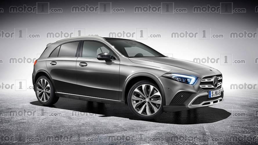Mercedes-Benz GLA 2019 - Projeção