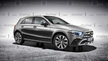 Nuova Mercedes GLA, il render