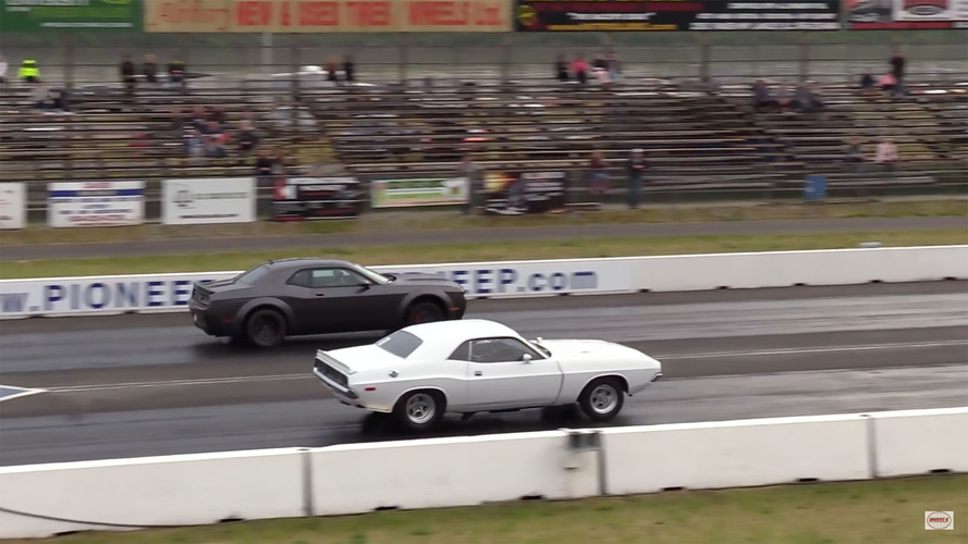 Duelo generacional: ¿puede el Dodge Challenger Demon con su abuelo de 1972?