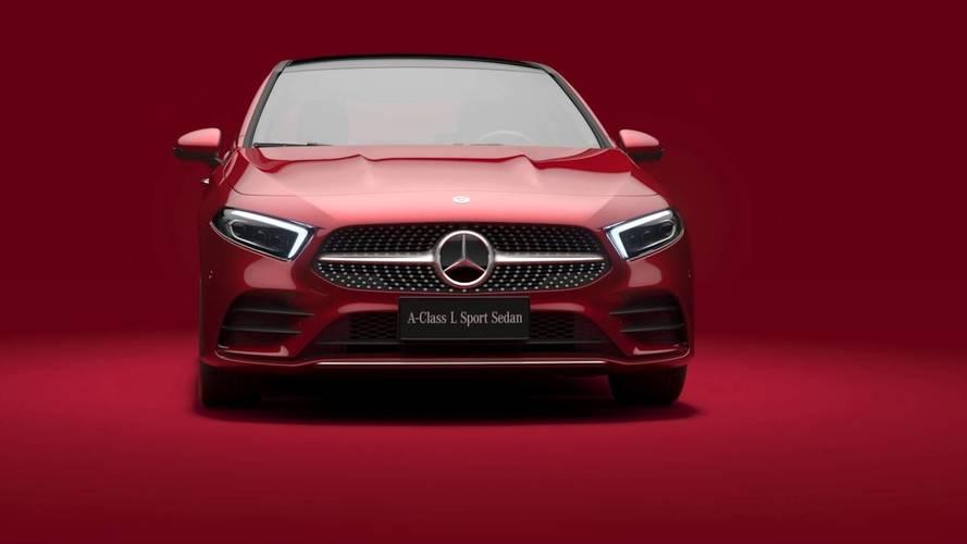 Çin'e özel Mercedes A-Serisi Sedan LWB