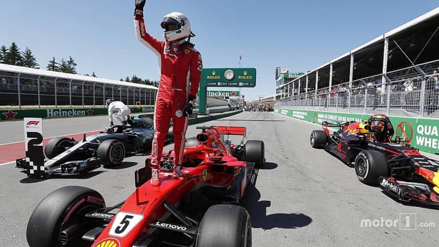 2018 F1 Canadian GP: Vettel Beats Bottas, Verstappen To Pole