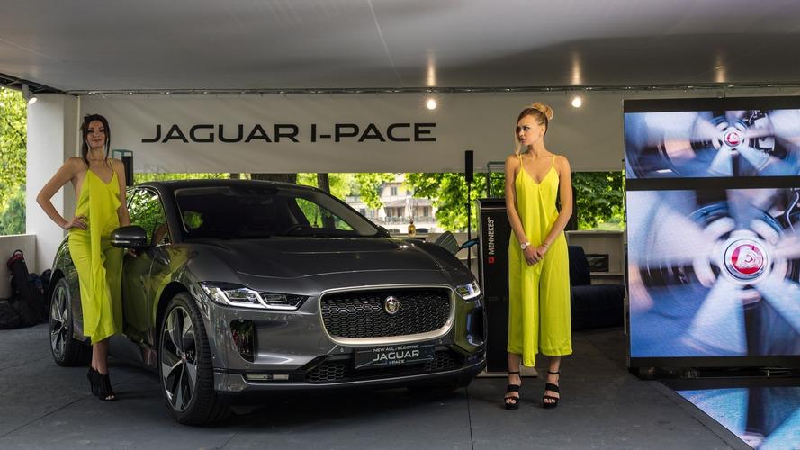 Jaguar e Land Rover a Parco Valentino 2018