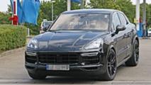 2020 Porsche Cayenne Coupe new spy photos