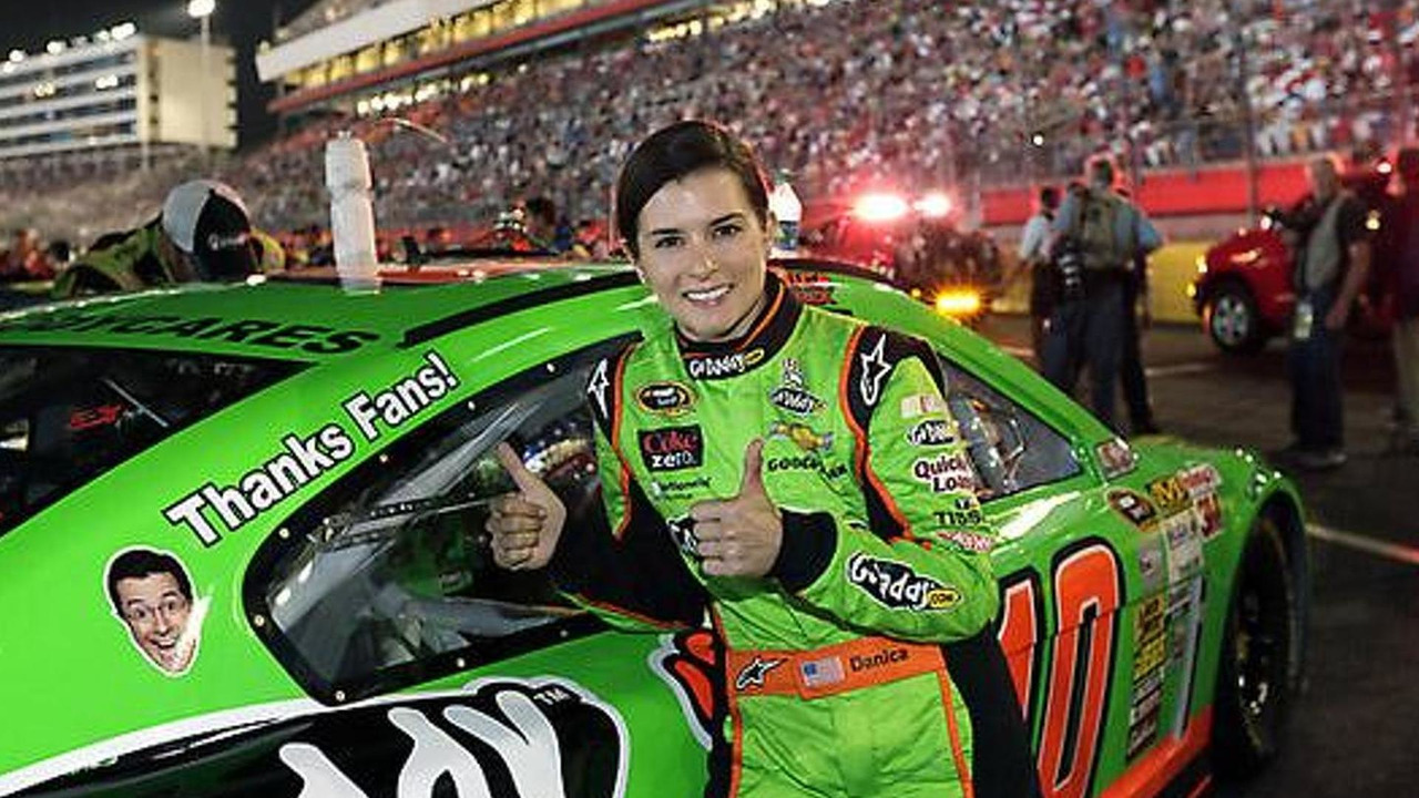 Danica Patrick with Stewart-Haas Racing 2013 Sprint All-Star race