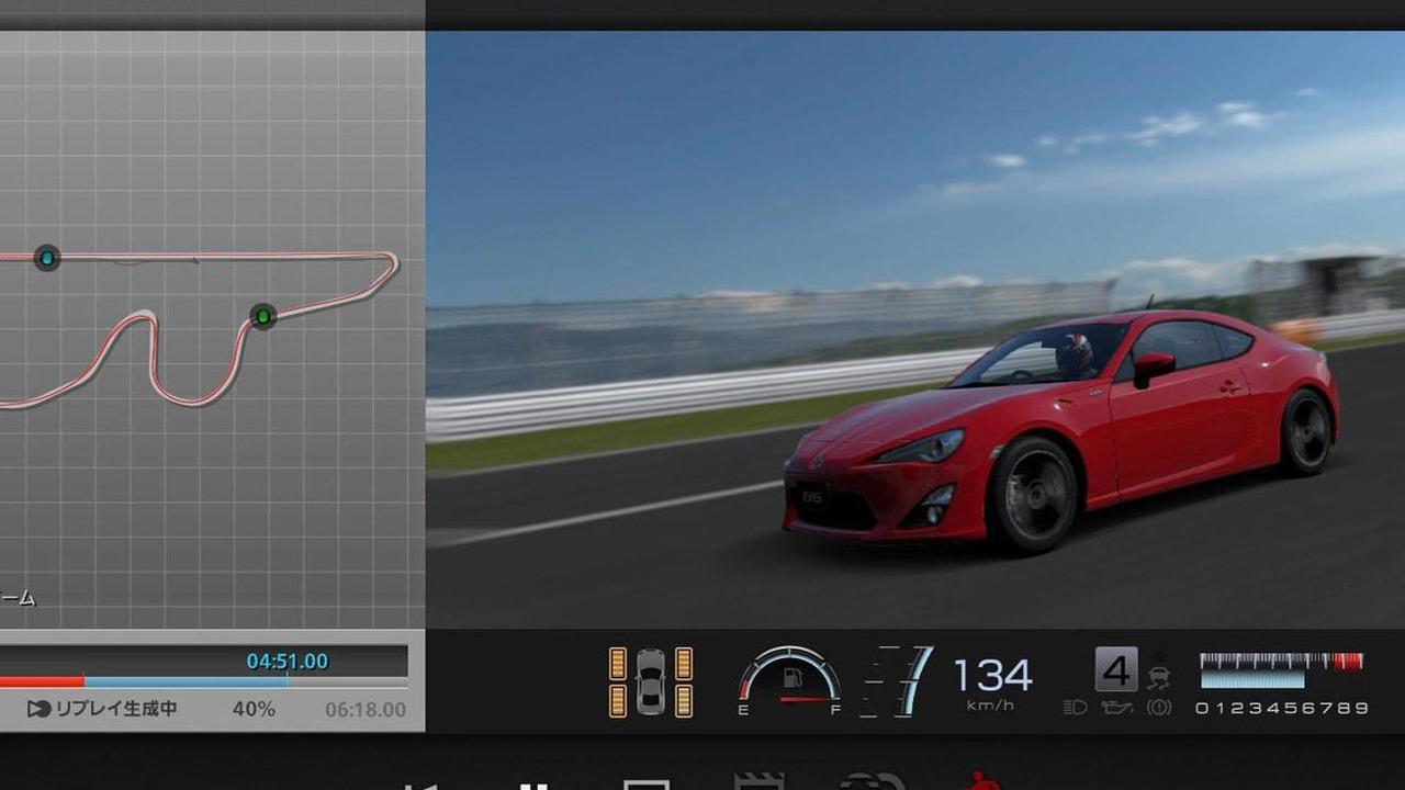Toyota 86 Sports Drive Logger