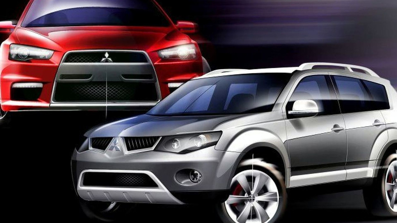 Mistubishi Outlander V6 Concept & Prototype X