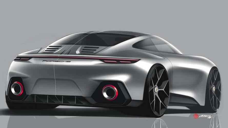 Flagra - Novo Porsche 911 aparece pela primeira vez sem camuflagem