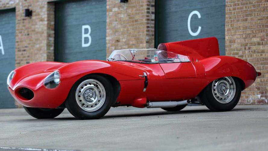 1956 Jaguar D-Type 10 milyon $'a satılabilir