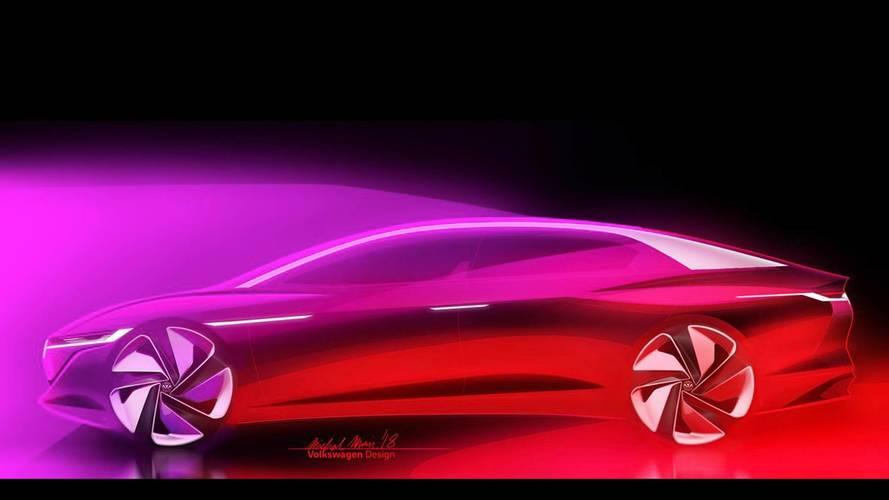VW I.D. Vizzion teaser'ı geleceği anlatıyor