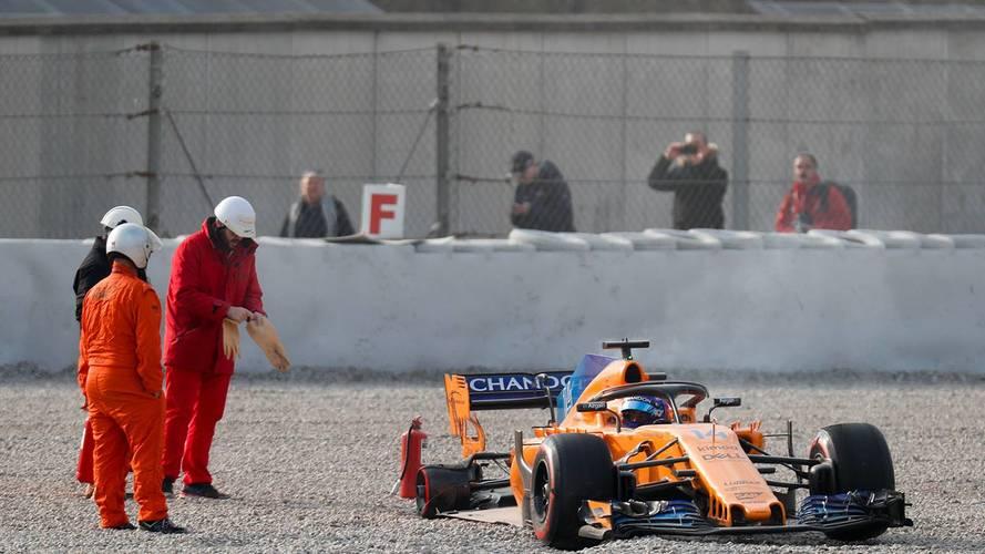 McLaren justifica los múltiples fallos por el