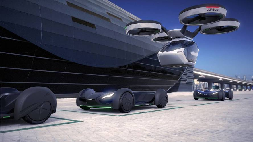 Audi Joins Italdesign And Airbus On Pop.Up Next Flying Car Concept