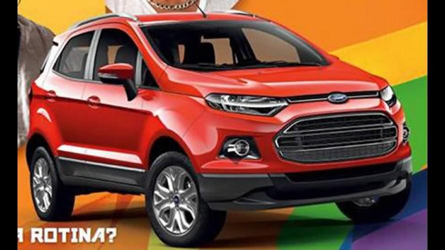 Novo Ford Ecosport Titanium: primeira imagem oficial da versão de produção