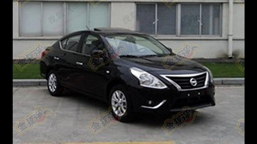 Seria este o novo Nissan Versa reestilizado?