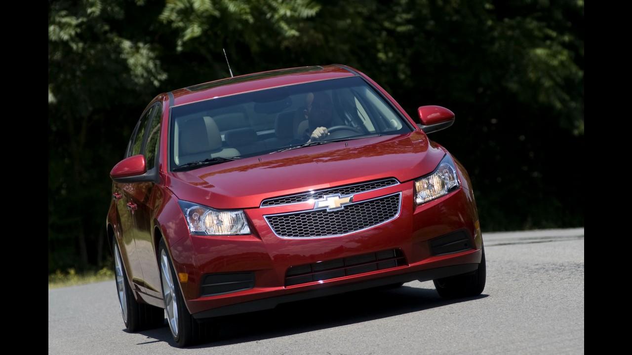Chevrolet normaliza produção dos Cruze nos EUA