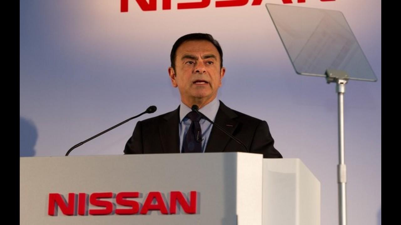 Carlos Ghosn é reeleito por dois anos no comando da Nissan