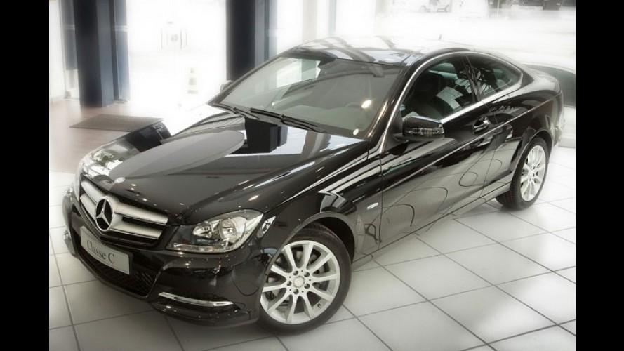 Mercedes-Benz lança oficialmente C 180 Coupé no Brasil com preços a partir de R$ 126.500