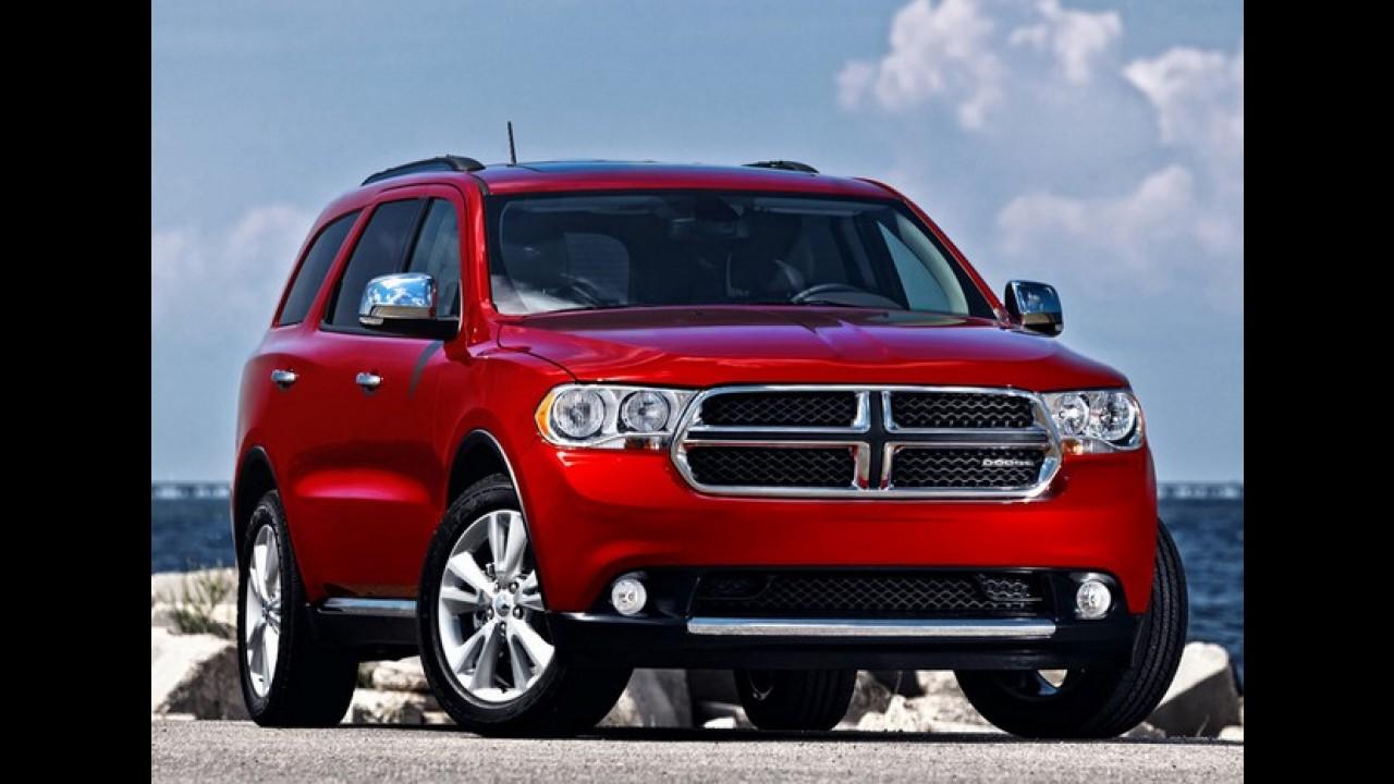 FCA convoca 870 mil Grand Cherokee e Durango para solucionar falha nos freios