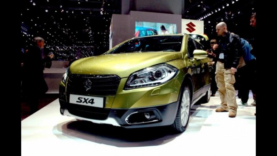 Salão de Genebra: Suzuki SX4 - O crossover japonês ficou maior