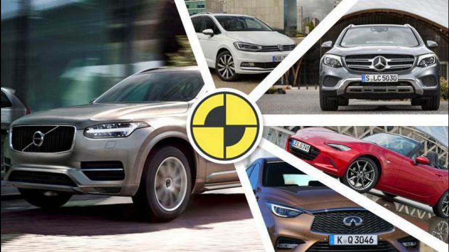Le auto più sicure del 2015