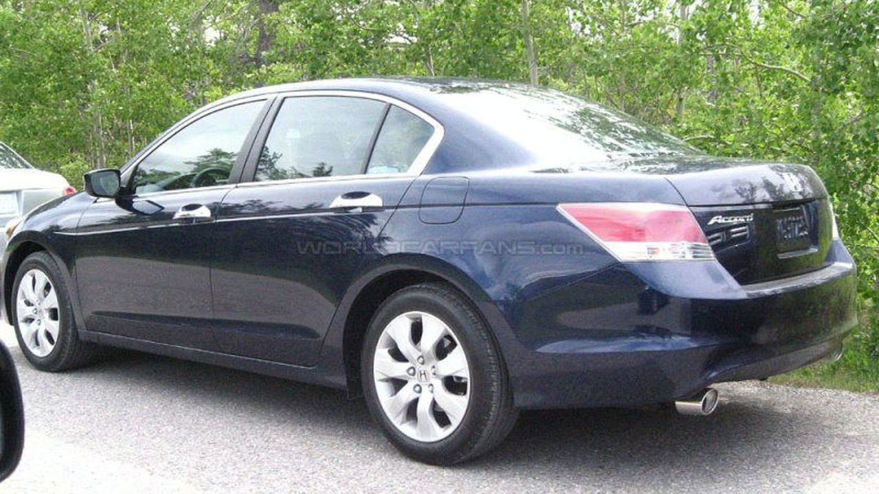 U.S. Spec Honda Accord on Photo Shoot