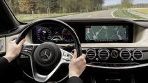 Mercedes-Benz Clase S 2018, tecnología
