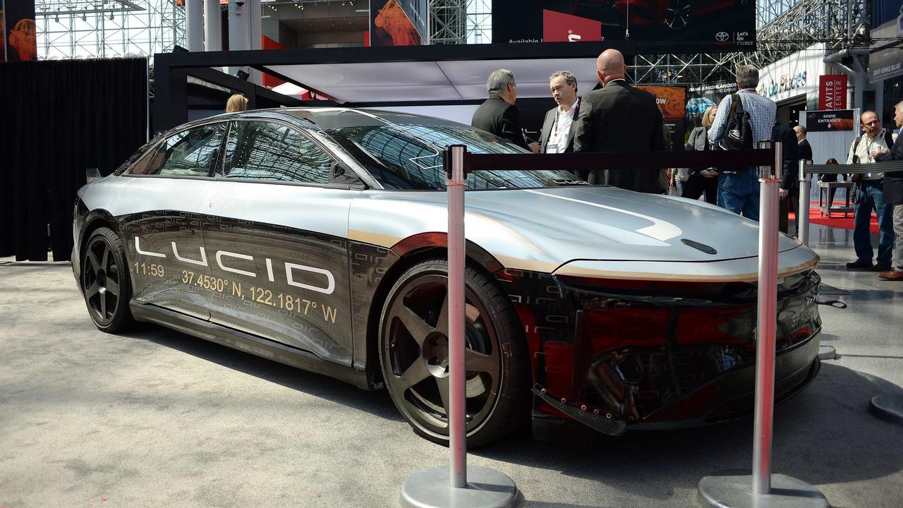 Lucid Air 217MPH Test Car
