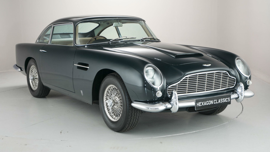 Rare Aston Martin DB5 Owned By Persian Prince For Sale At $1M
