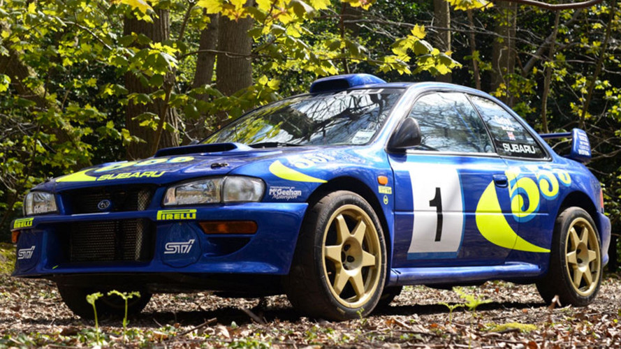 Colin McRae'nin Subaru Impreza WRC test aracı satıldı