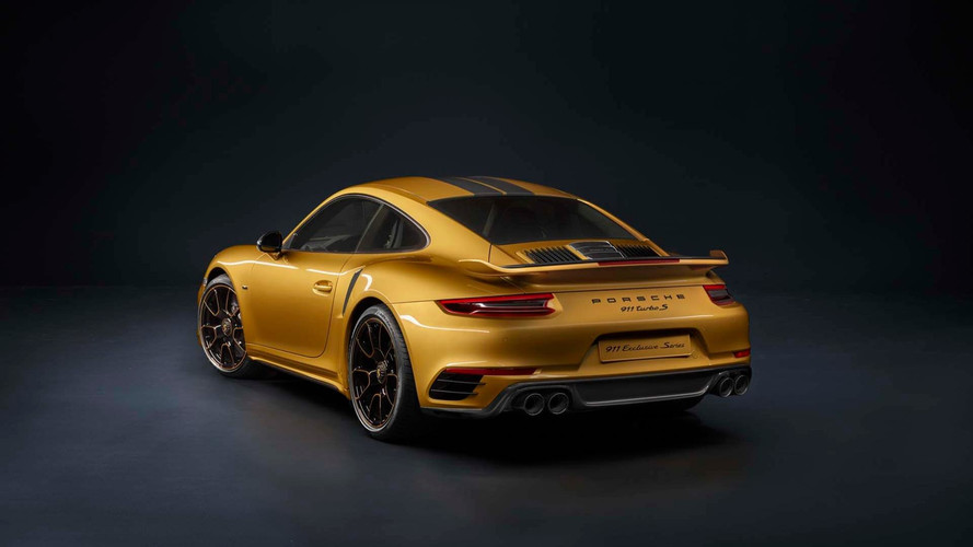 Karşınızda 610 PS'lik Porsche 911 Turbo S Exclusive Series